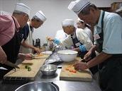 シニアの楽しい料理教室